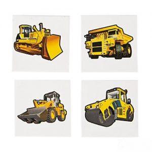 Construction Zone Tattoos x 36