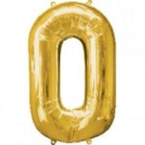Zero Age Gold Balloon 86cm