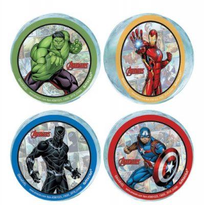 Avengers Marvel Bouncy Balls x 4